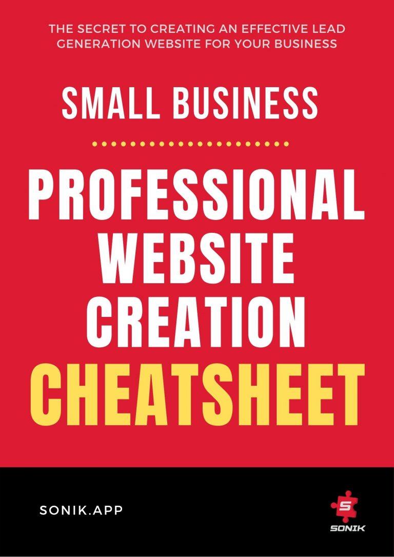 Website Creation Cheatsheet