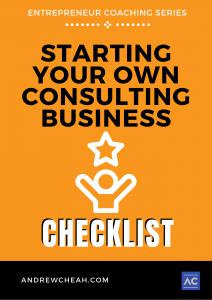 Consultant startup Checklist