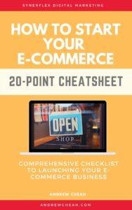 Ecommerce-cheatsheet-guide