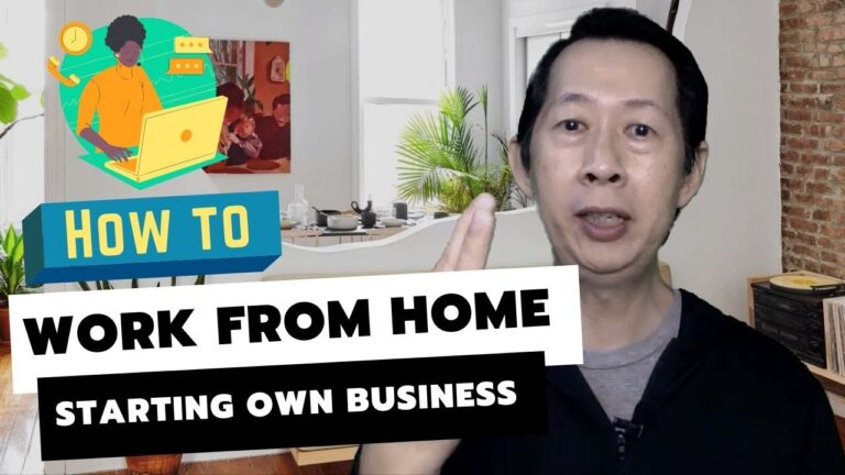 how to work from home starting own business in Malaysia
