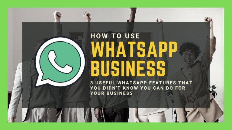 Use Whatsapp Business Features