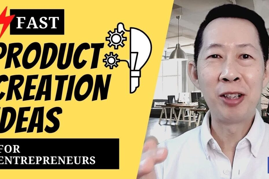 Fast product creation ideas for entrepreneurs