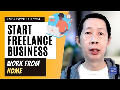 Start a Freelance Business Working from Home